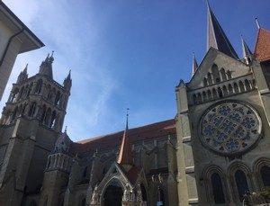 cathedrale de Lausanne suisse
