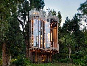 glamping : cabane dans les arbres