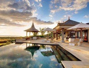 villas de luxe à l'île maurice