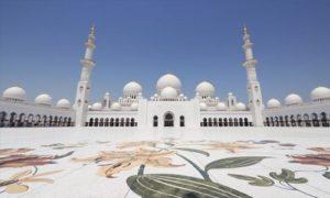 Visiter la grande Mosquée de Sheikh Zayed à Abu Dhabi