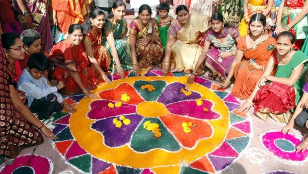 Le Pongal en Inde