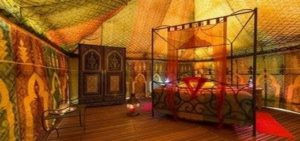 glamping tente caidale