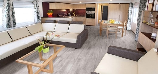location mobil home de luxe