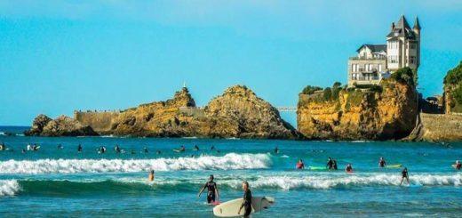 vacances à Biarritz à petit prix