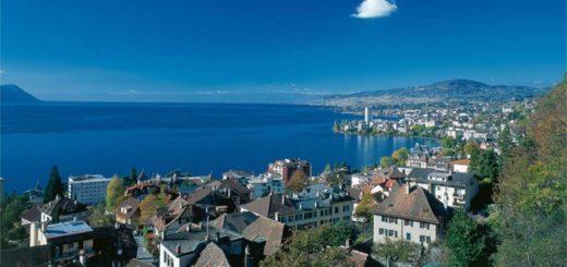 vacances à Montreux en Suisse