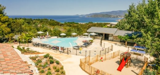 le plus beau camping de Corse