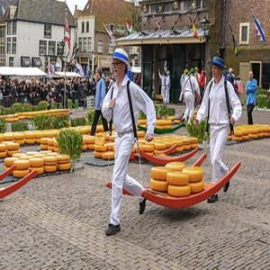 Marché aux fromages d'Alkmaar
